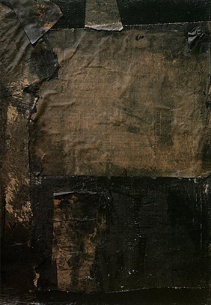 Robert Rauschenberg Black Painting