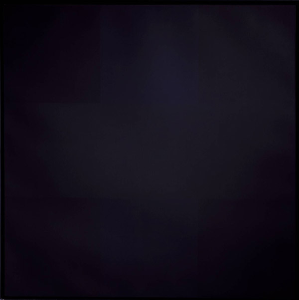 Ad Reinhardt's Abstract Painting No. 5