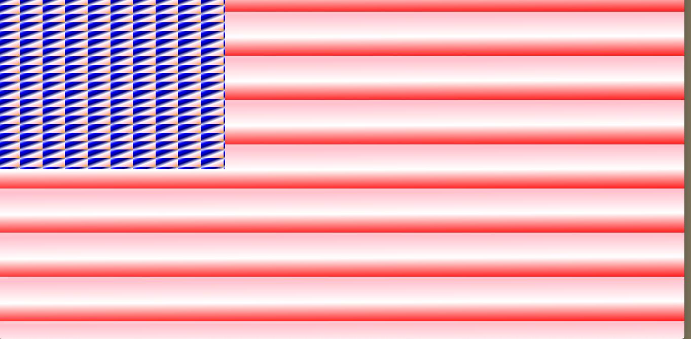 css flag code sketch