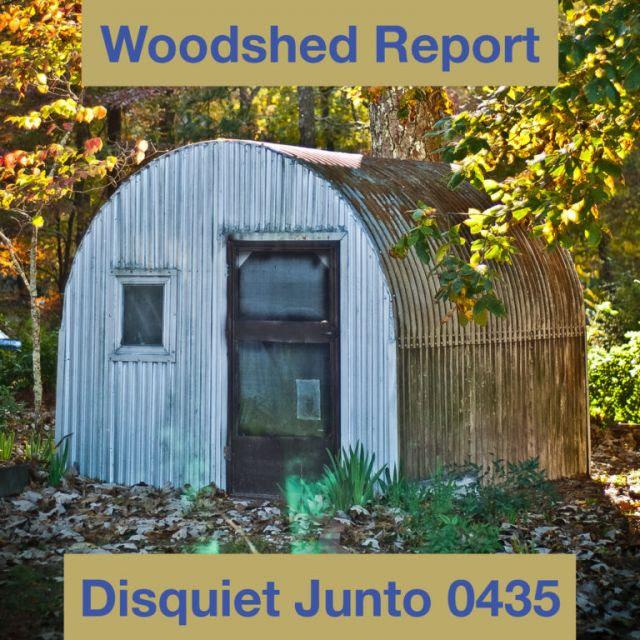 Disquiet Junto Woodshed project
