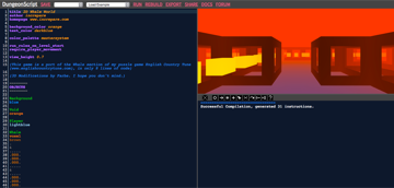 Dungeonscript screenshot