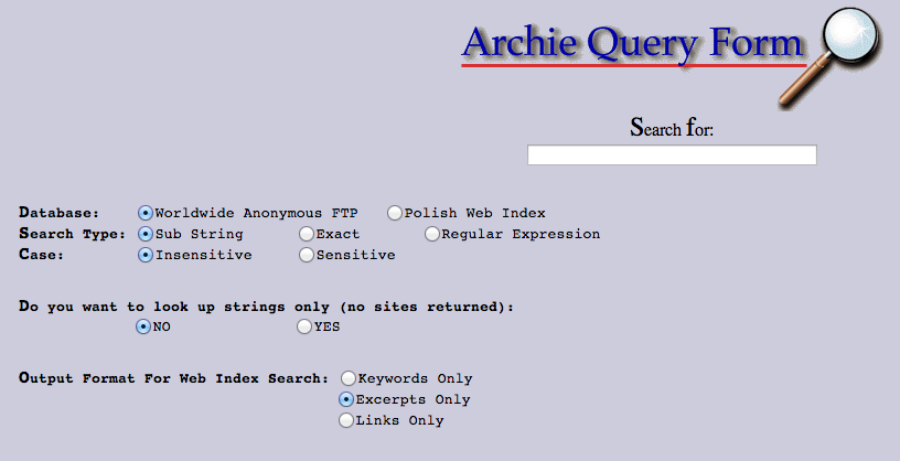 Archie Search