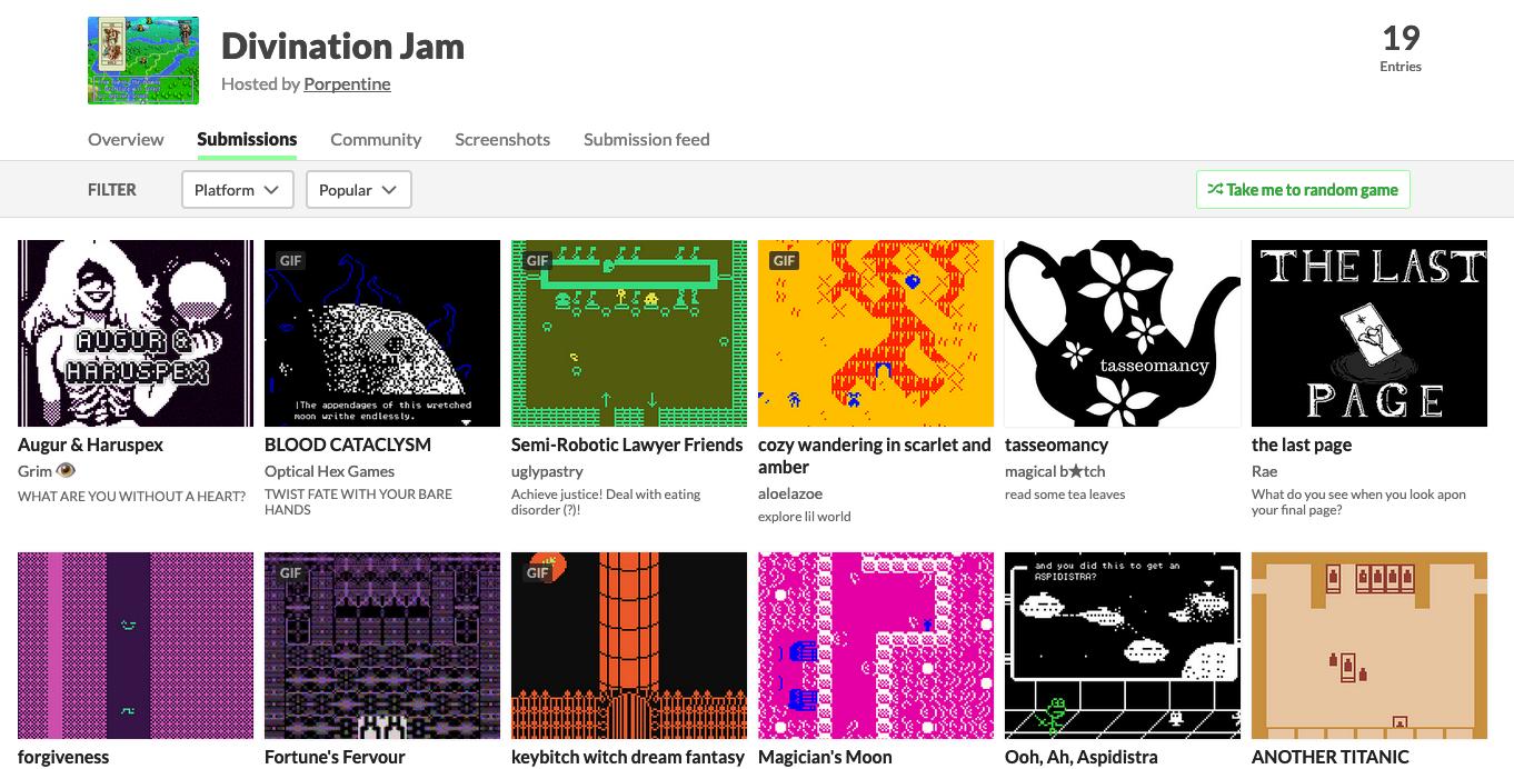 Divination Jam screenshot
